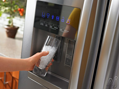 fridge-freezer-with-water-dispenser-ice